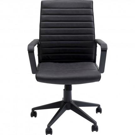 Chaise de bureau Labora noire Kare Design