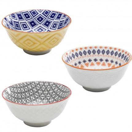 Bols Art Cuisine Colore set de 4 Kare Design