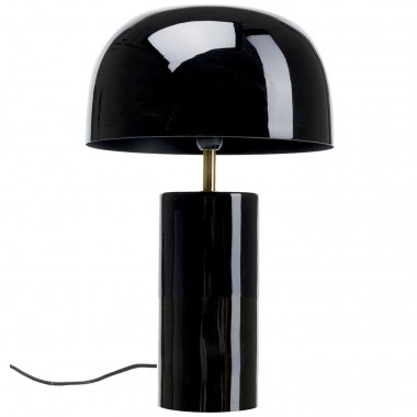 Lampe de table Loungy noire Kare Design