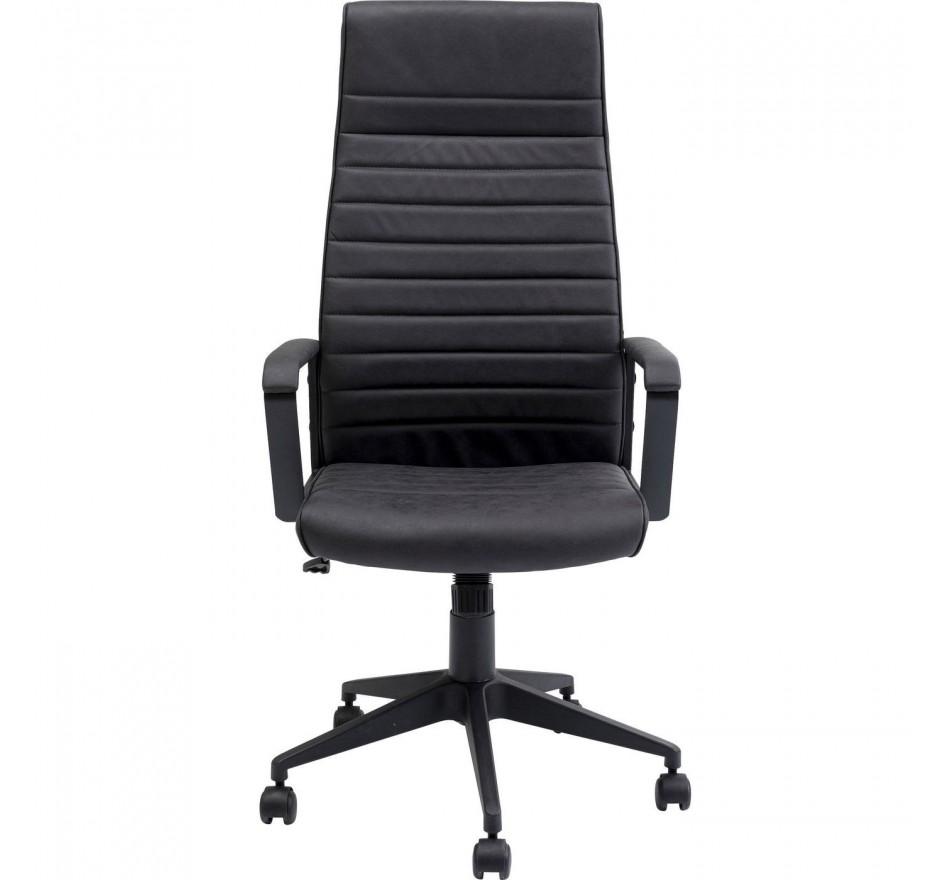 Chaise de bureau Labora haute noire Kare Design