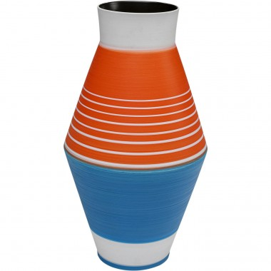 Vase Happy Day bleu 37cm Kare Design