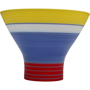 Vase Happy Day bleu 18cm Kare Design