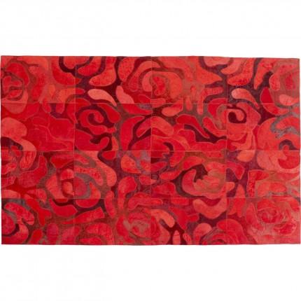 Tapis roses rouges 170x240cm Kare Design