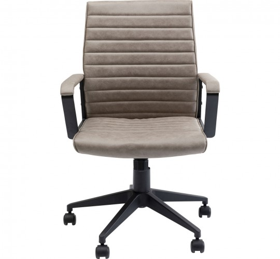 Chaise de bureau Labora marron clair Kare Design