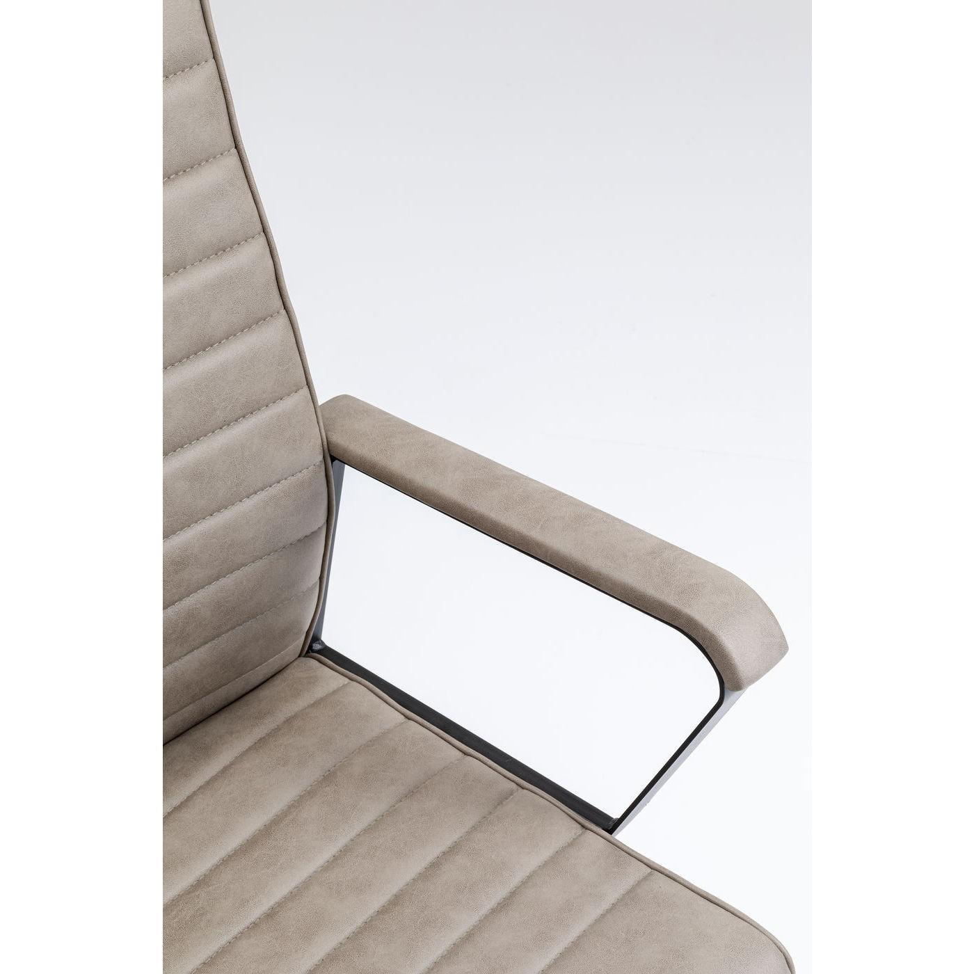 Chaise de bureau Labora taupe Kare Design