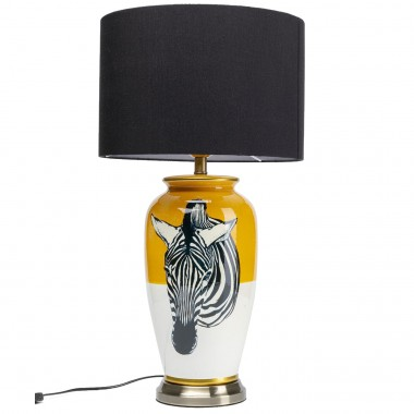 Lampe de table Zebra jaune Kare Design
