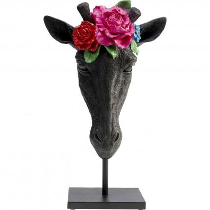 Déco Masque girafe fleurs Kare Design