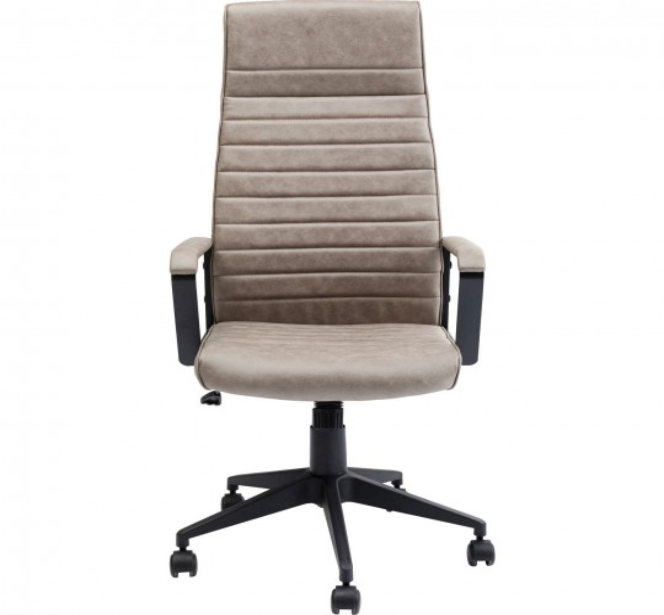 Chaise de bureau Labora haute marron clair Kare Design