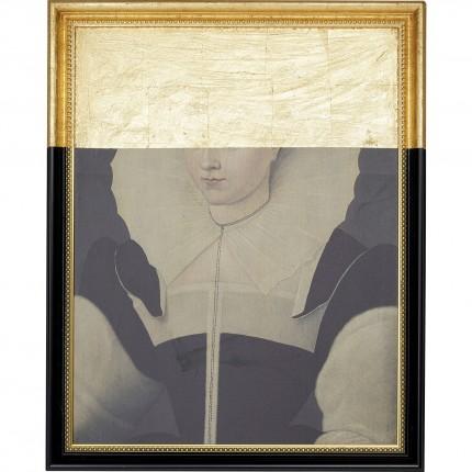 Peinture à l'huile Frame Femme Incognito 80x100cm Kare Design