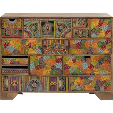 Commode Paradise 14 tiroirs Kare Design