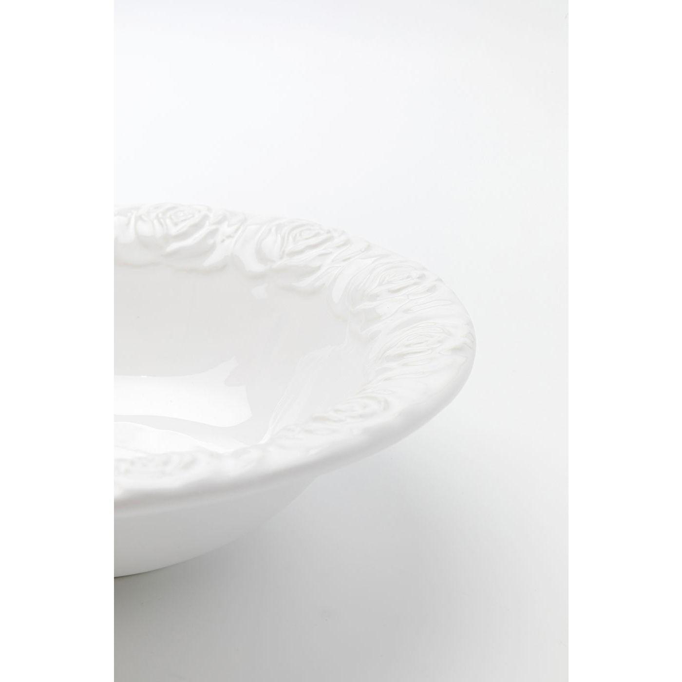 Bols Roses blancs 18cm set de 4 Kare Design
