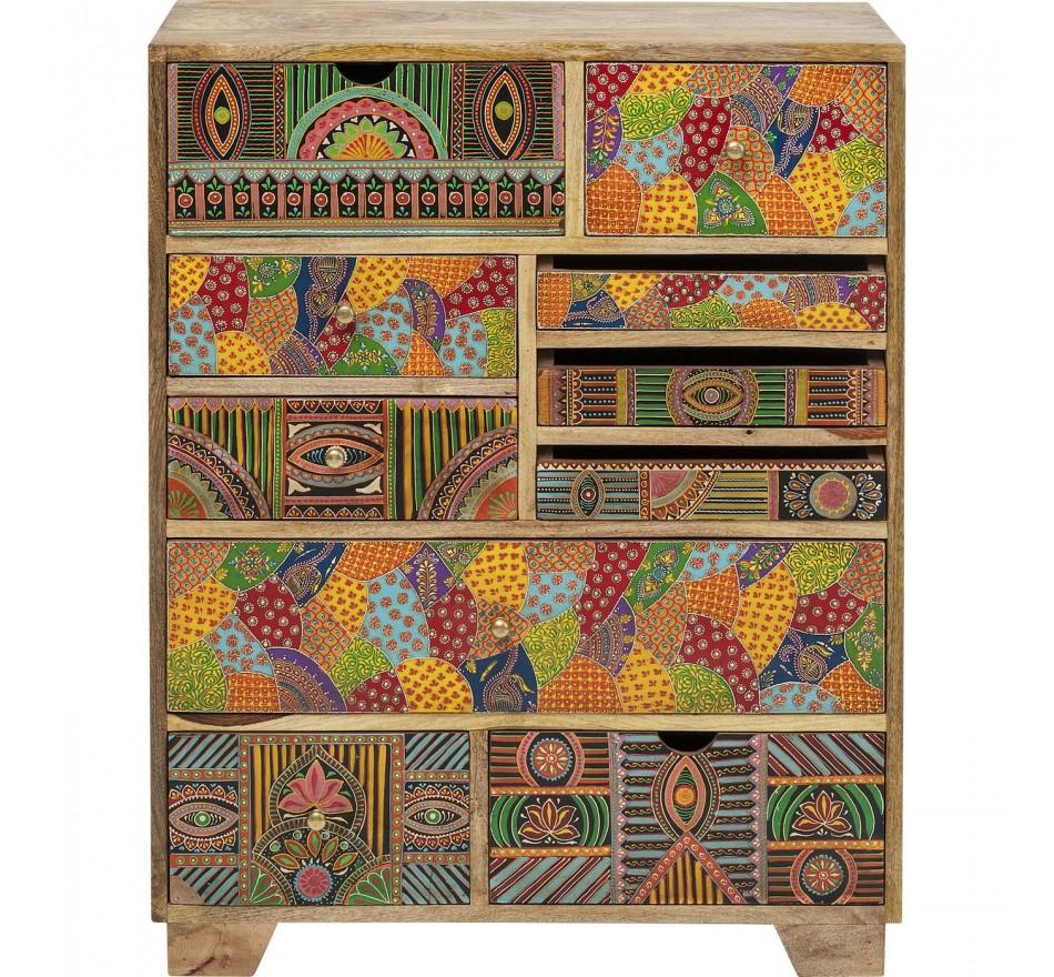 Commode Paradise 10 tiroirs Kare Design