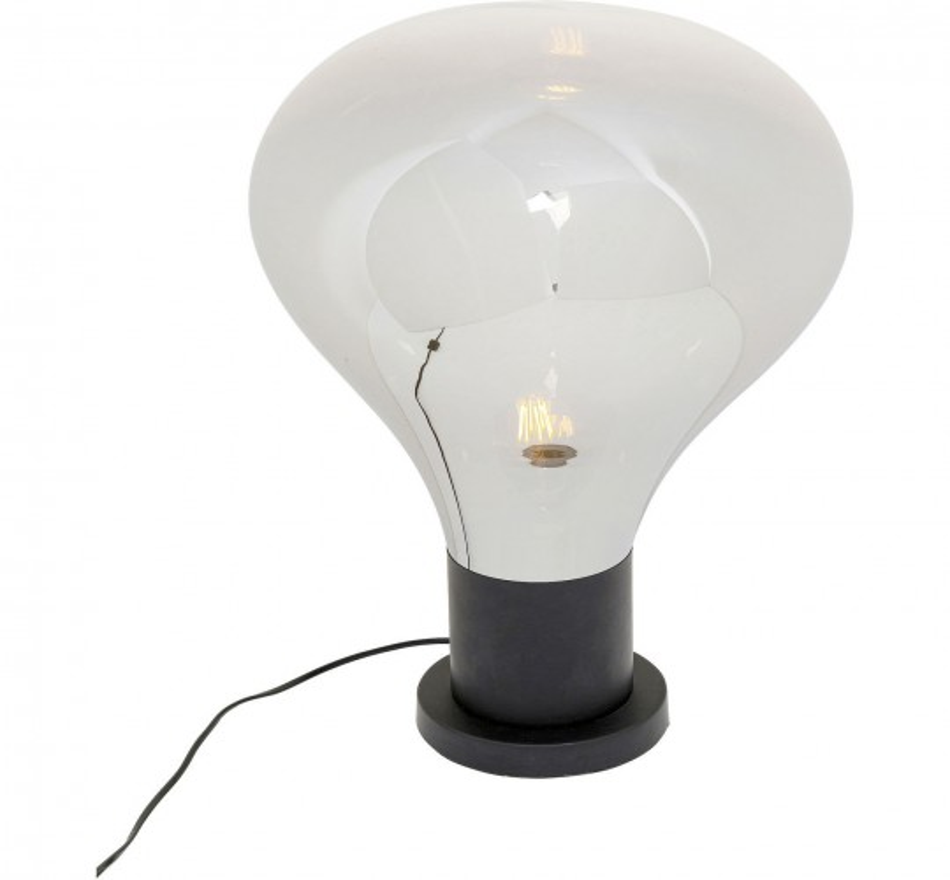 Lampe de table Pear 53cm noir Kare Design