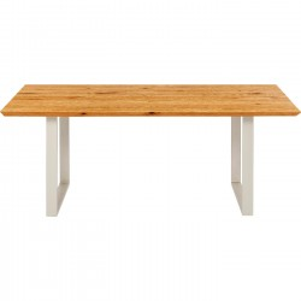 Table Symphony chêne argent 200x100cm Kare Design