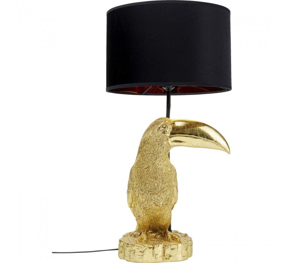Lampe de table Toucan doré Kare Design