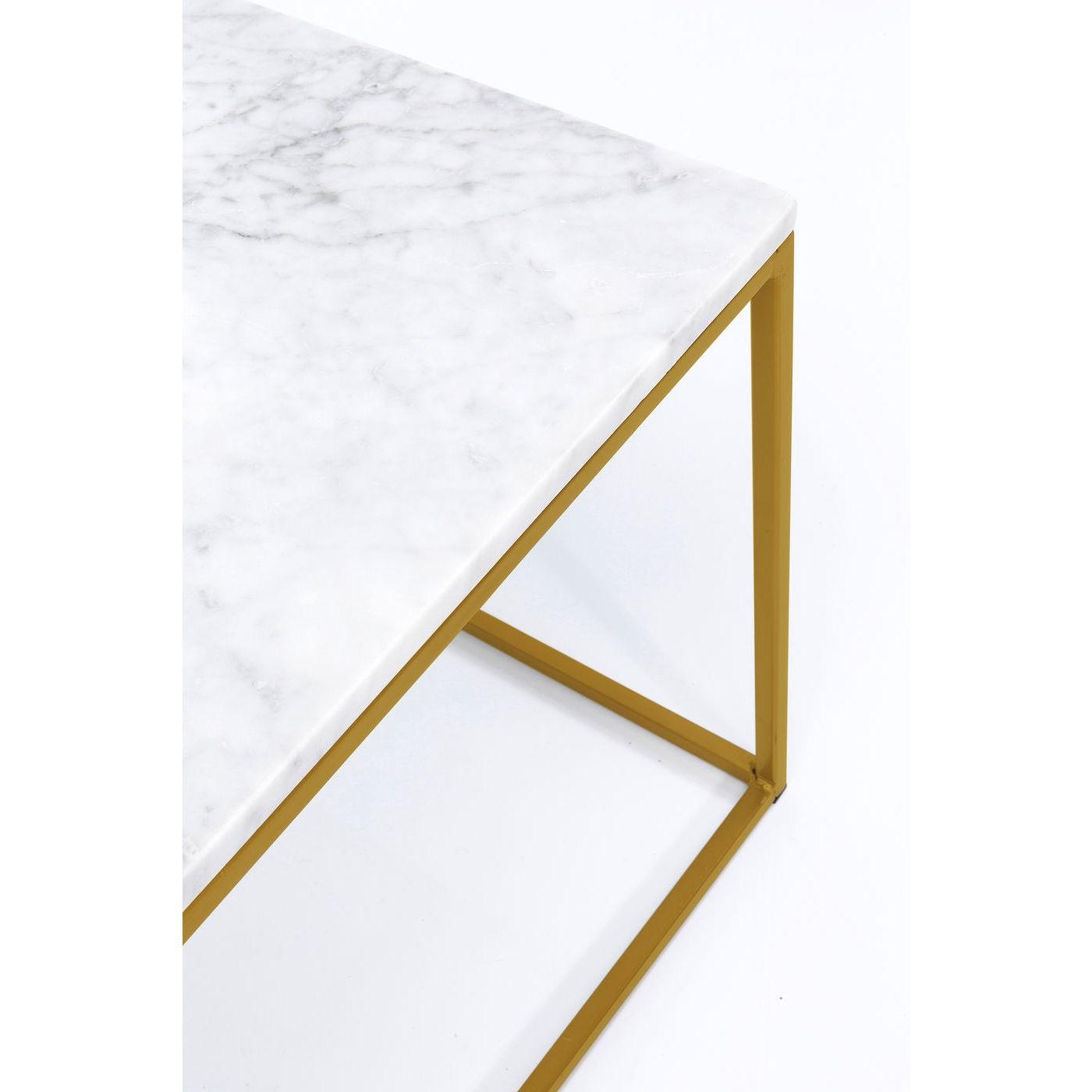 Table basse Key West 120x60cm blanche Kare Design