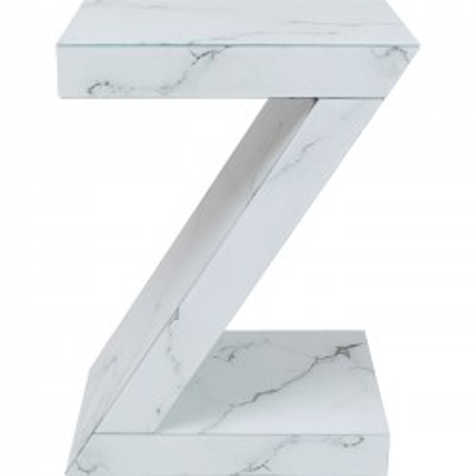 Table d'appoint Luxury Z effet marbre Kare Design