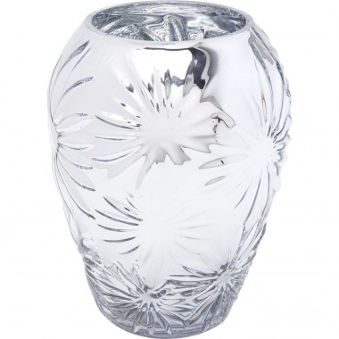 Vase Ice Flowers 21cm Kare Design