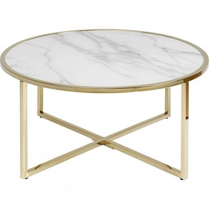 Table basse West Beach 80cm laiton Kare Design