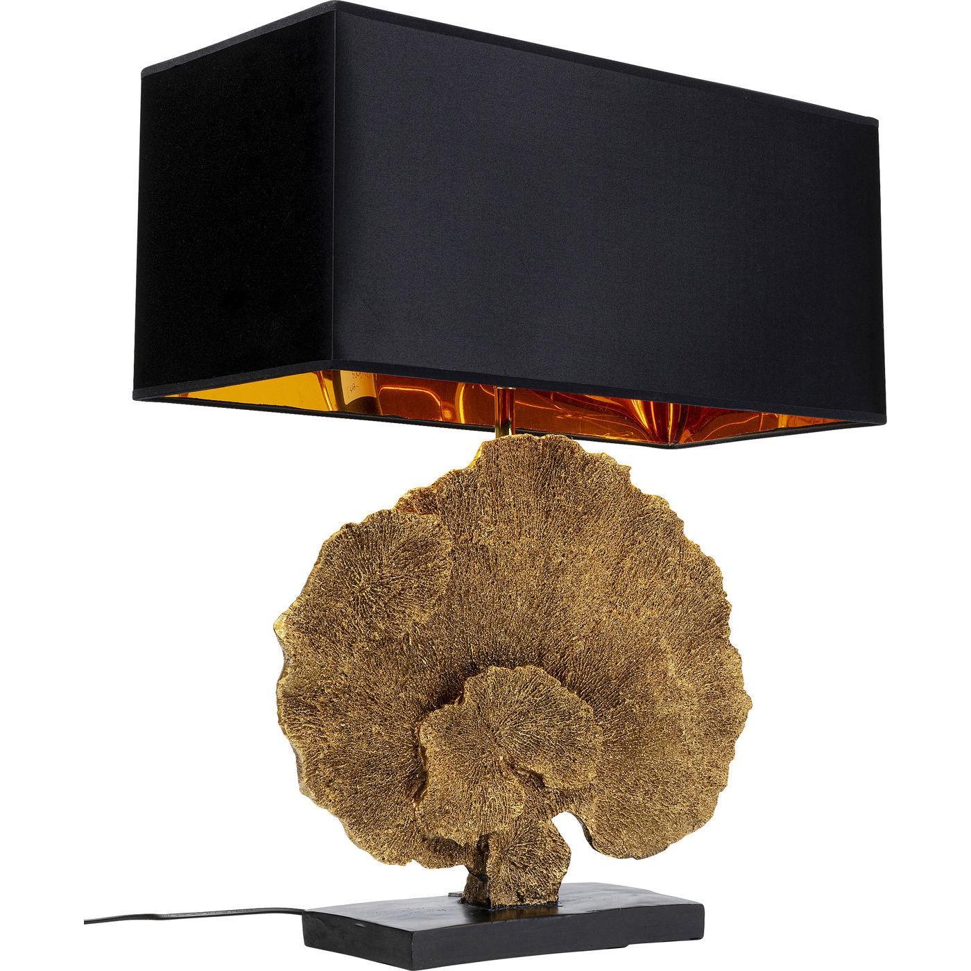 Lampe de table Corail doré Kare Design