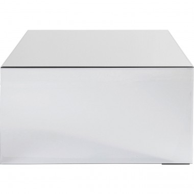 Table basse Luxury 70x70cm argent Kare Design