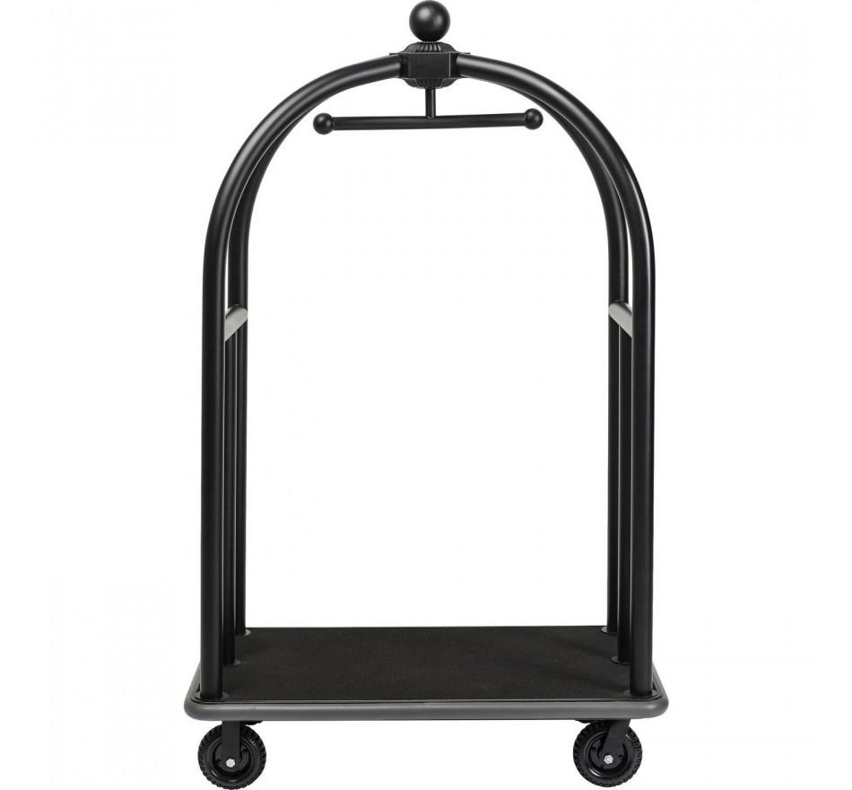 Porte-bagages VIP Vegas noir mat Kare Design