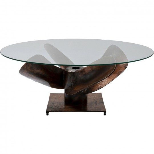 90cm Design Table basse Hélice Kare mNnwv80Oy