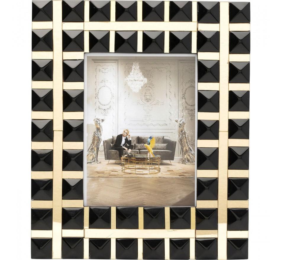 Cadre Harmony noir 15x21cm Kare Design