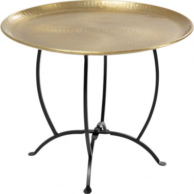 Table d'appoint Oasis 55cm dorée Kare Design