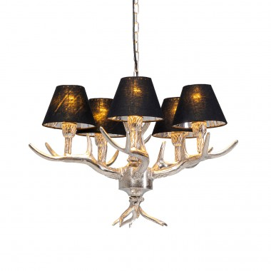 Suspension Antler noire Kare Design