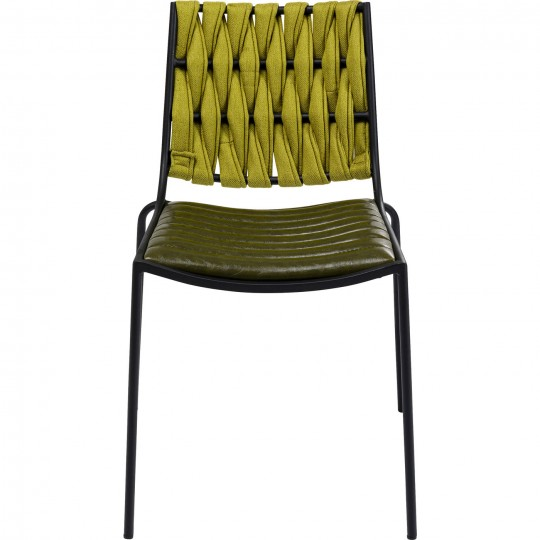 Chaise Two Face verte Kare Design