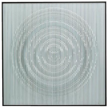 Tableau 3D Art Circle 100x100cm Kare Design