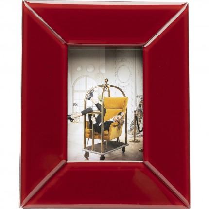 Cadre Gem rouge 13x18cm Kare Design
