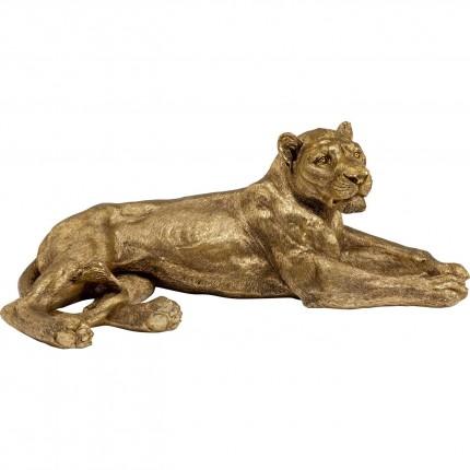 Déco Lionne XL dorée Kare Design