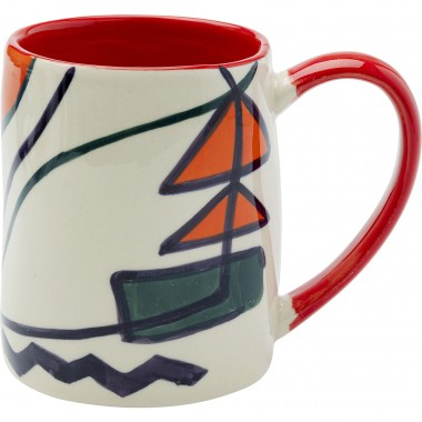 Mugs Artist set de 4 Kare Design