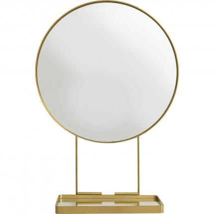 Miroir avec tablette Art 60cm Kare Design