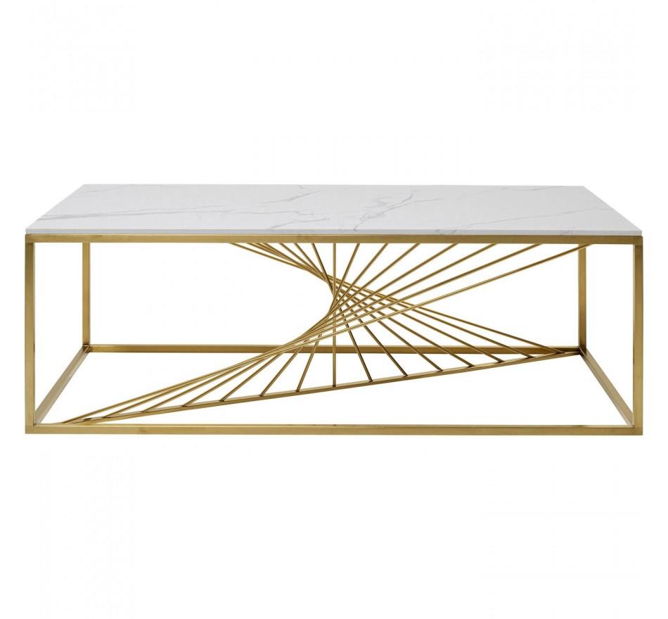 Table basse Art Marble verre 140x70cm Kare Design