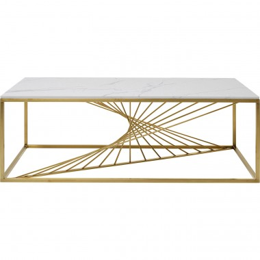 Table basse Art Marble verre 140x70cm Kare Design