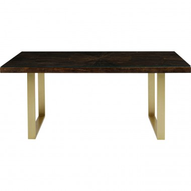 Table Conley pieds laiton 180x90cm Kare Design