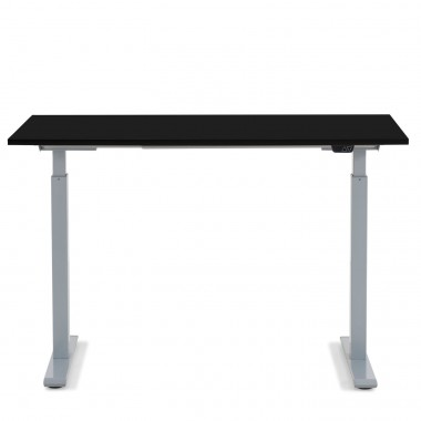 Bureau Smart noir et chrome 120x70cm Kare Design