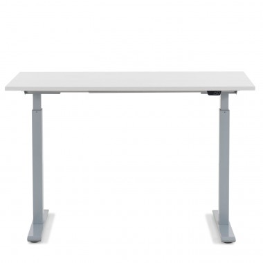 Bureau Smart blanc et chrome 120x70cm Kare Design