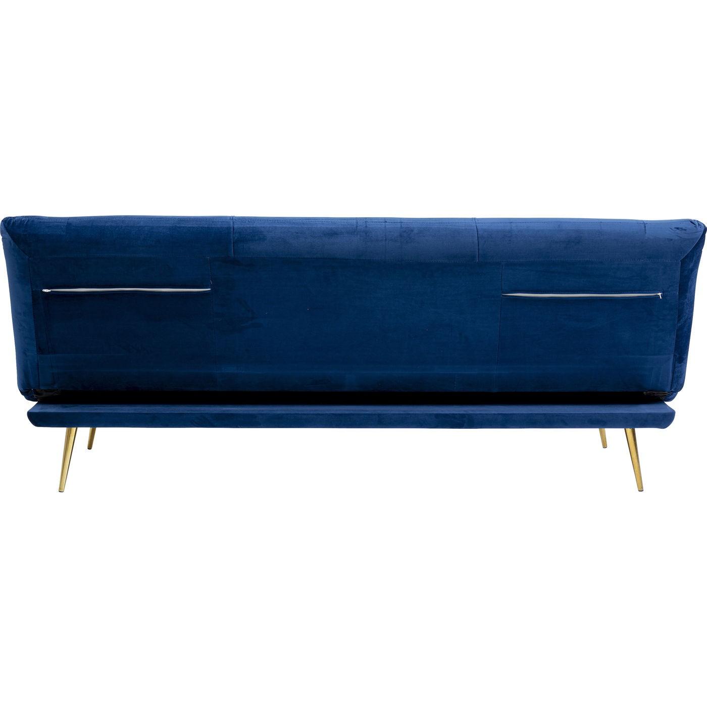 Canapé-lit Soda bleu 188cm Kare Design