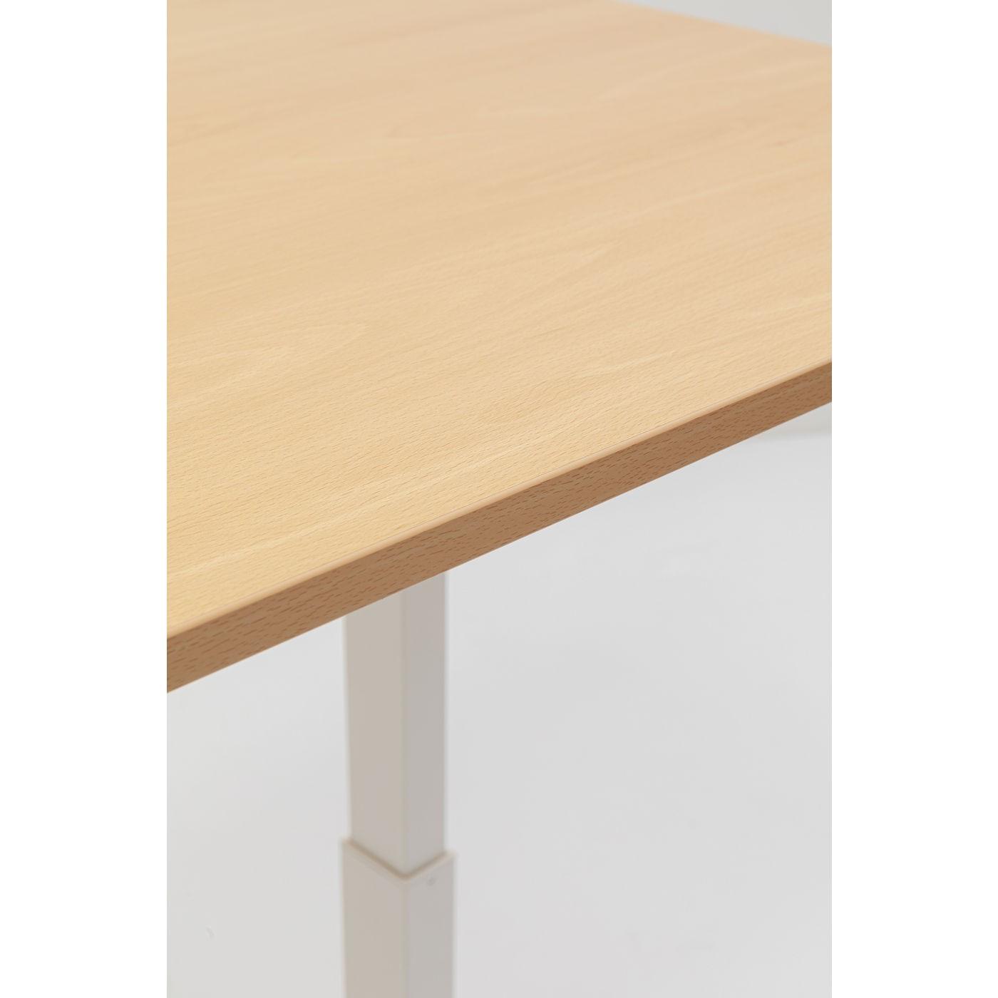 Bureau Smart hêtre et blanc 160x80cm Kare Design