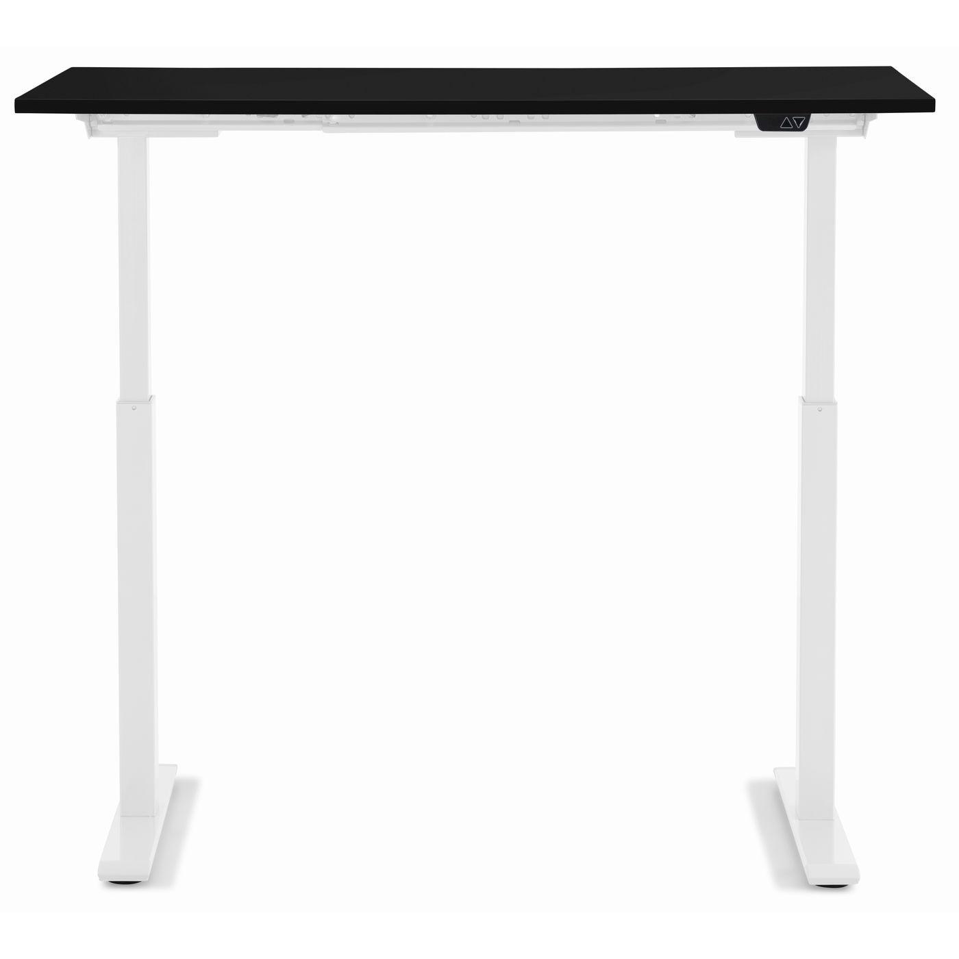 Bureau Smart noir et blanc 120x70cm Kare Design
