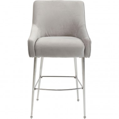 Tabouret de bar Night Fever gris clair Kare Design