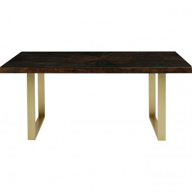 Table Conley pieds laiton 160x80cm Kare Design
