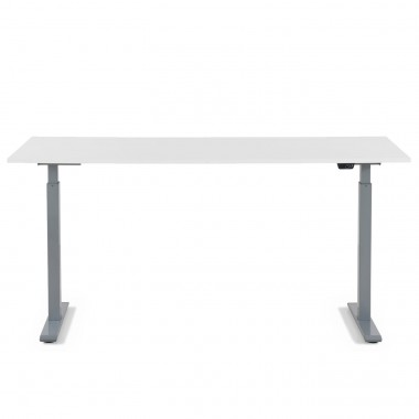 Bureau Smart blanc et chrome 160x80cm Kare Design