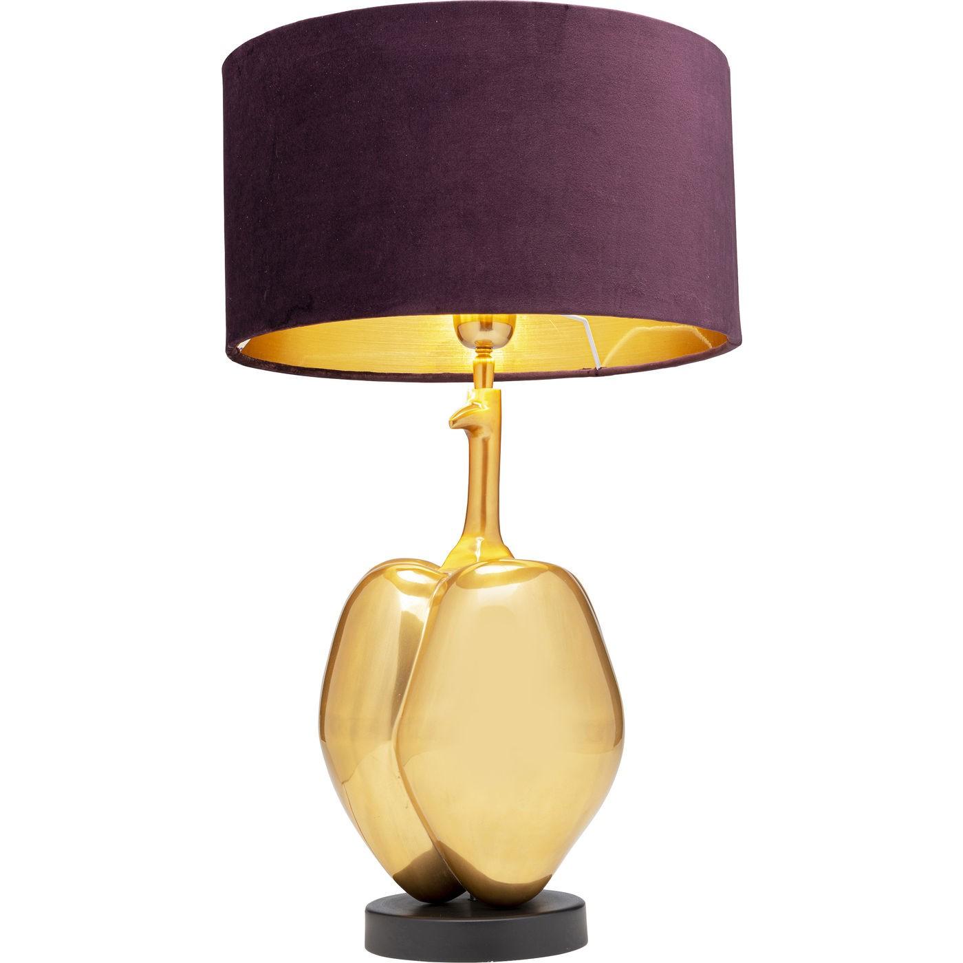 Lampe de table Pumpkin dorée Kare Design