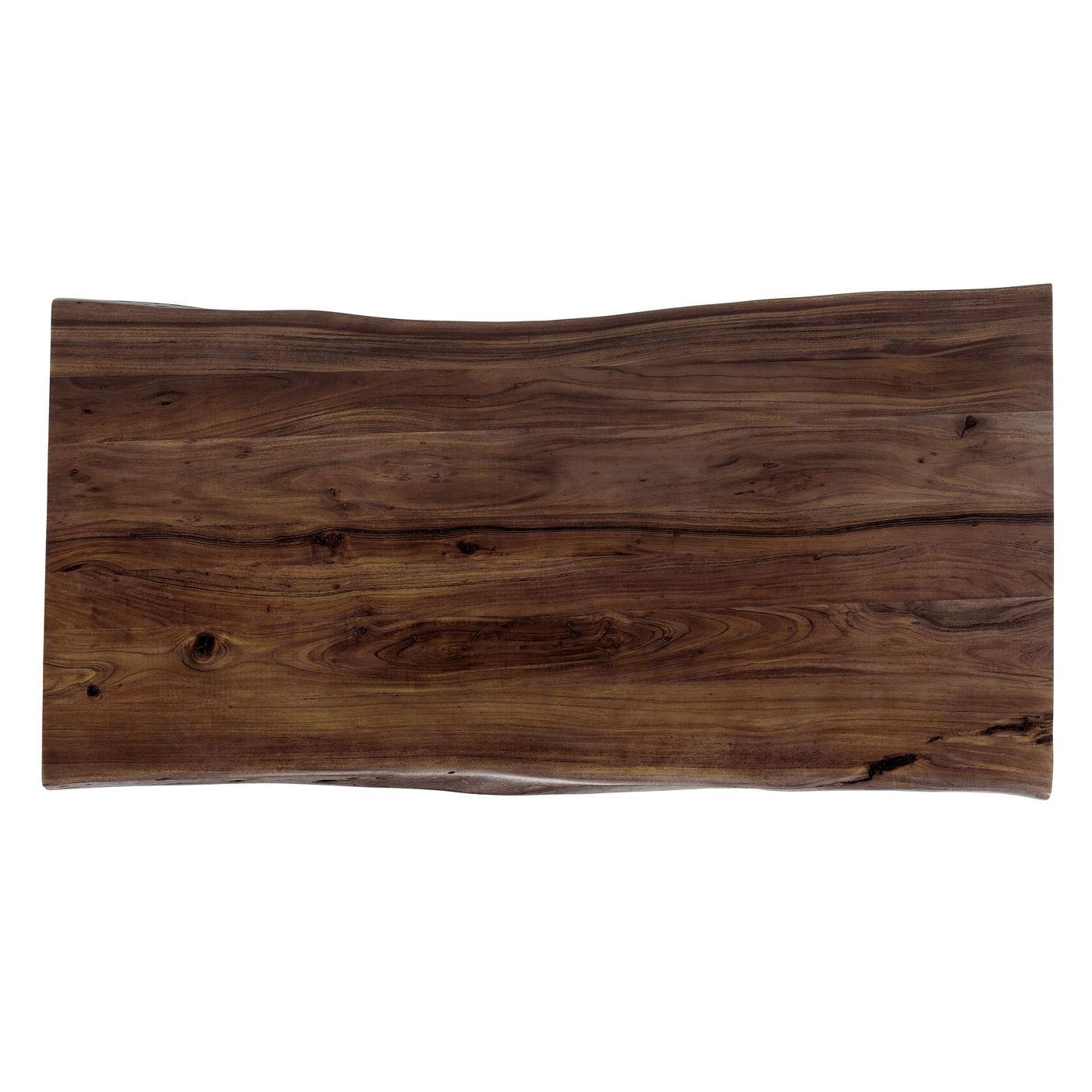 Table Harmony noyer noire 200x100cm Kare Design