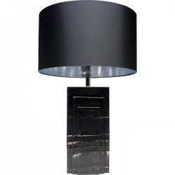 Lampe de table Rumba marbre noir Kare Design